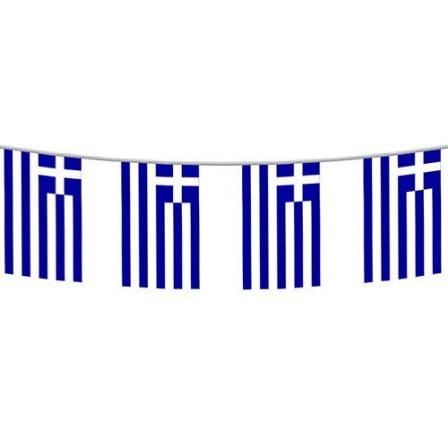 Greek Flag Bunting 2 4m