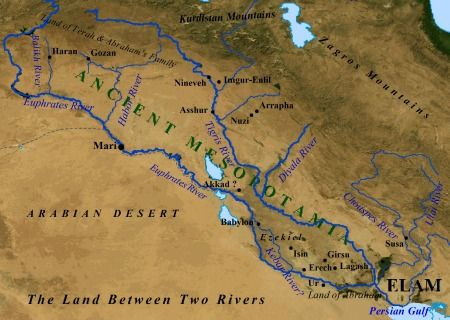 ancient map of mesopotamia Map Of Ancient Mesopotamia Ancient Mesopotamia Map Ancient ancient map of mesopotamia