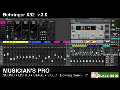 Behringer x32 software for windows