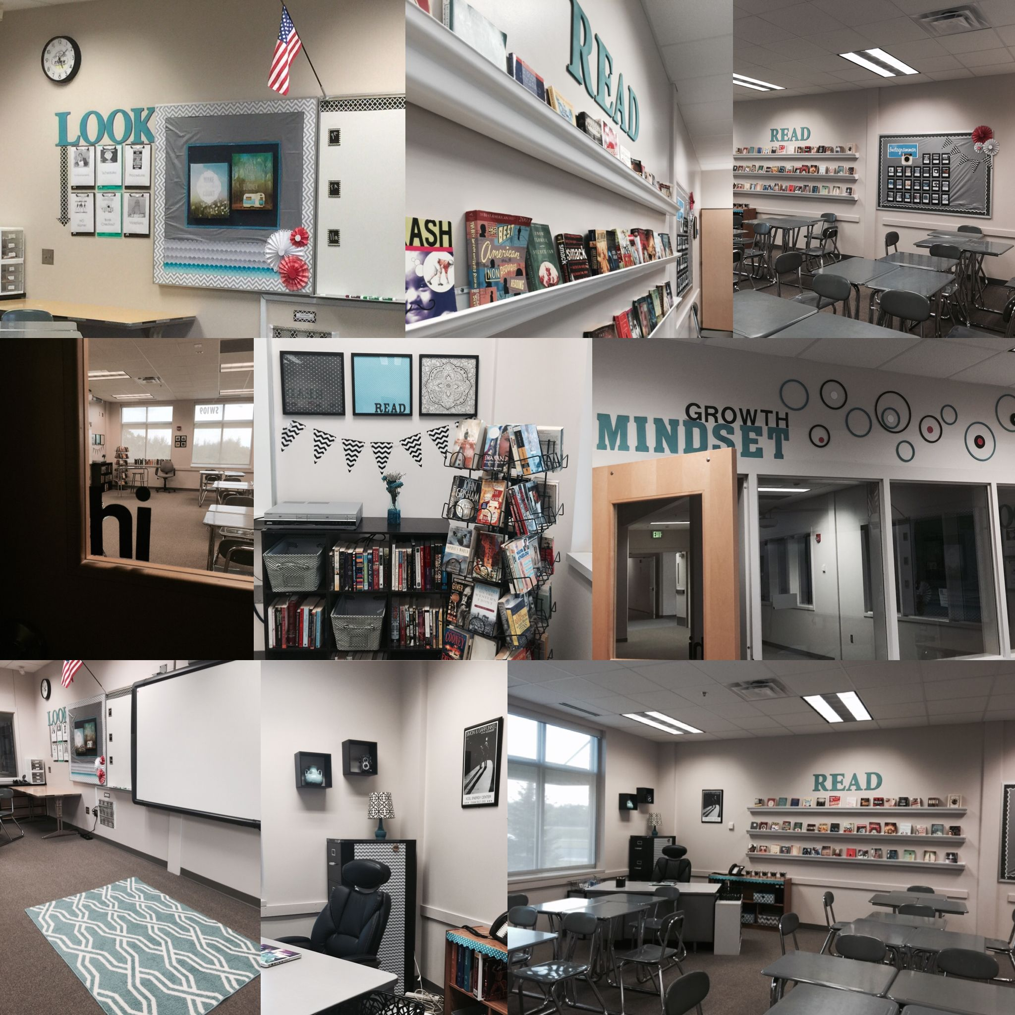 Modern English Classroom ~ Yes a high school classroom can be inviting my language