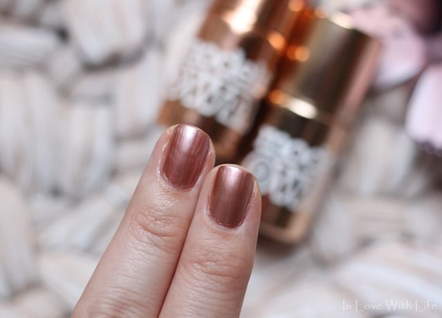 Models Own Rose and Copper Chrome ♥ In Love With Life ♥: Nails