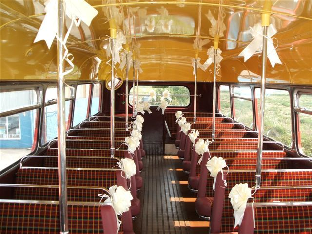 Wedding School Bus Shuttle From Hotel To Reception