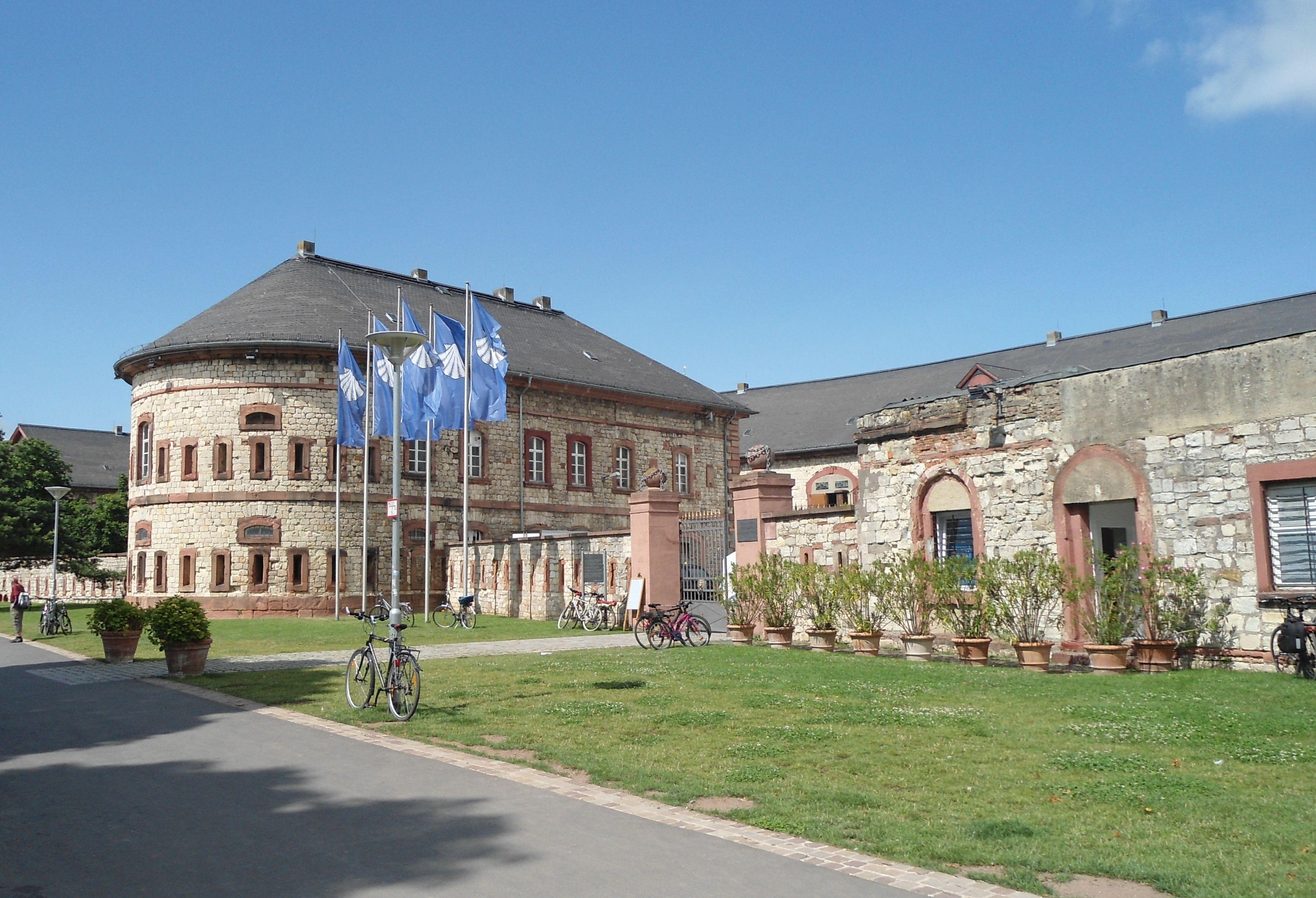 Mainz Kastel redoubt, fortified bridgehead on the eastern ...