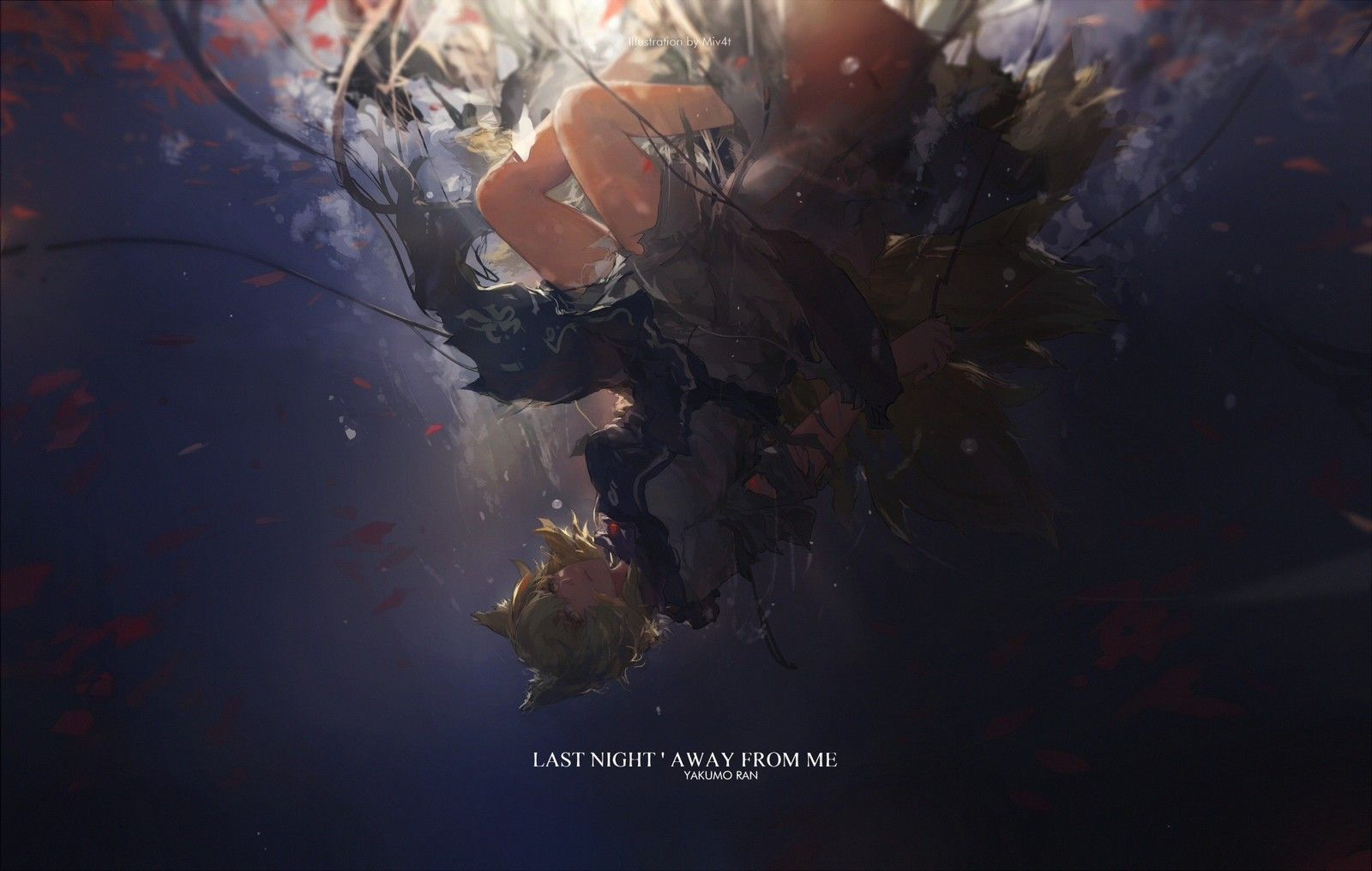LAST NIGHT 'AWAY FROM ME, Minority 4 on ArtStation at https://www.artstation.com/artwork/LkG0P