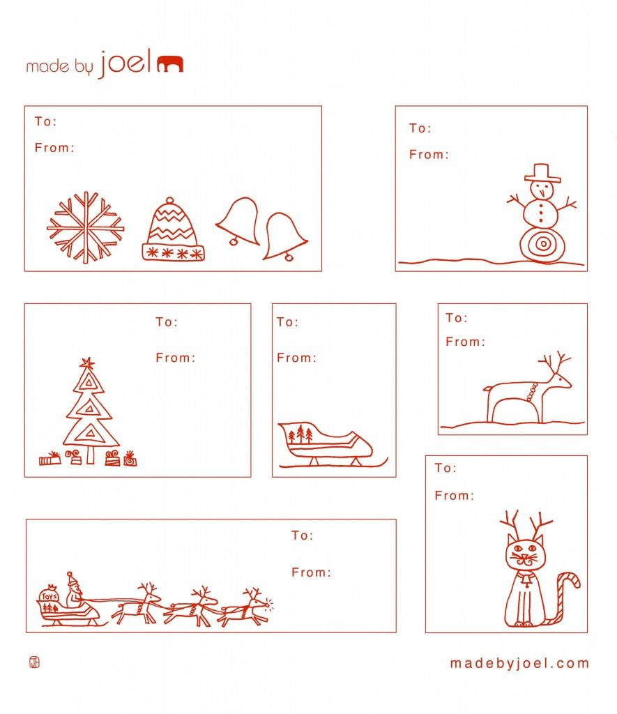 Printable christmas gift tags perhaps try printing on for Free printable gift tag templates for word