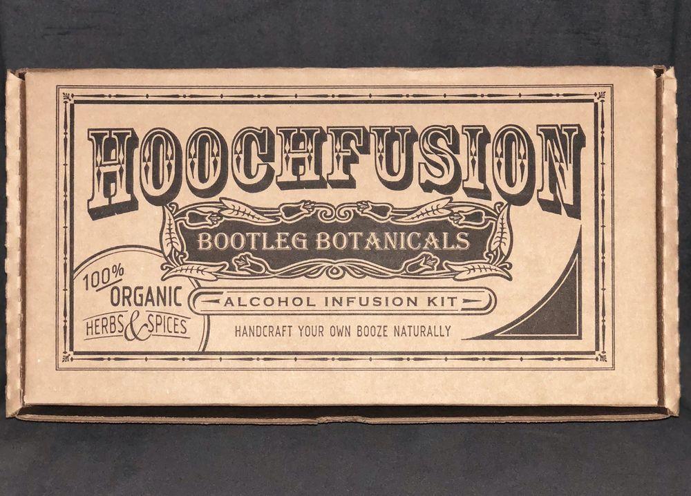 Hoochfusion some like it hot cinnamon whiskey kit lot of