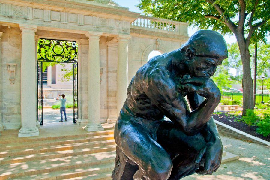 Visit The Rodin Museum in Philadelphia | Musée rodin, Idée voyage ...