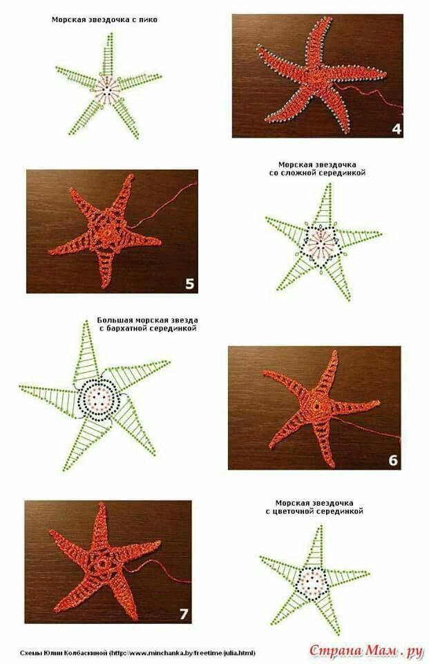 43) estrella de mar | crochet | Pinterest | Ganchillo, Bonito y Adornos