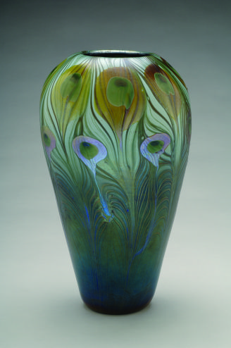 Art Nouveau Glass And Pottery In The University Art Collection