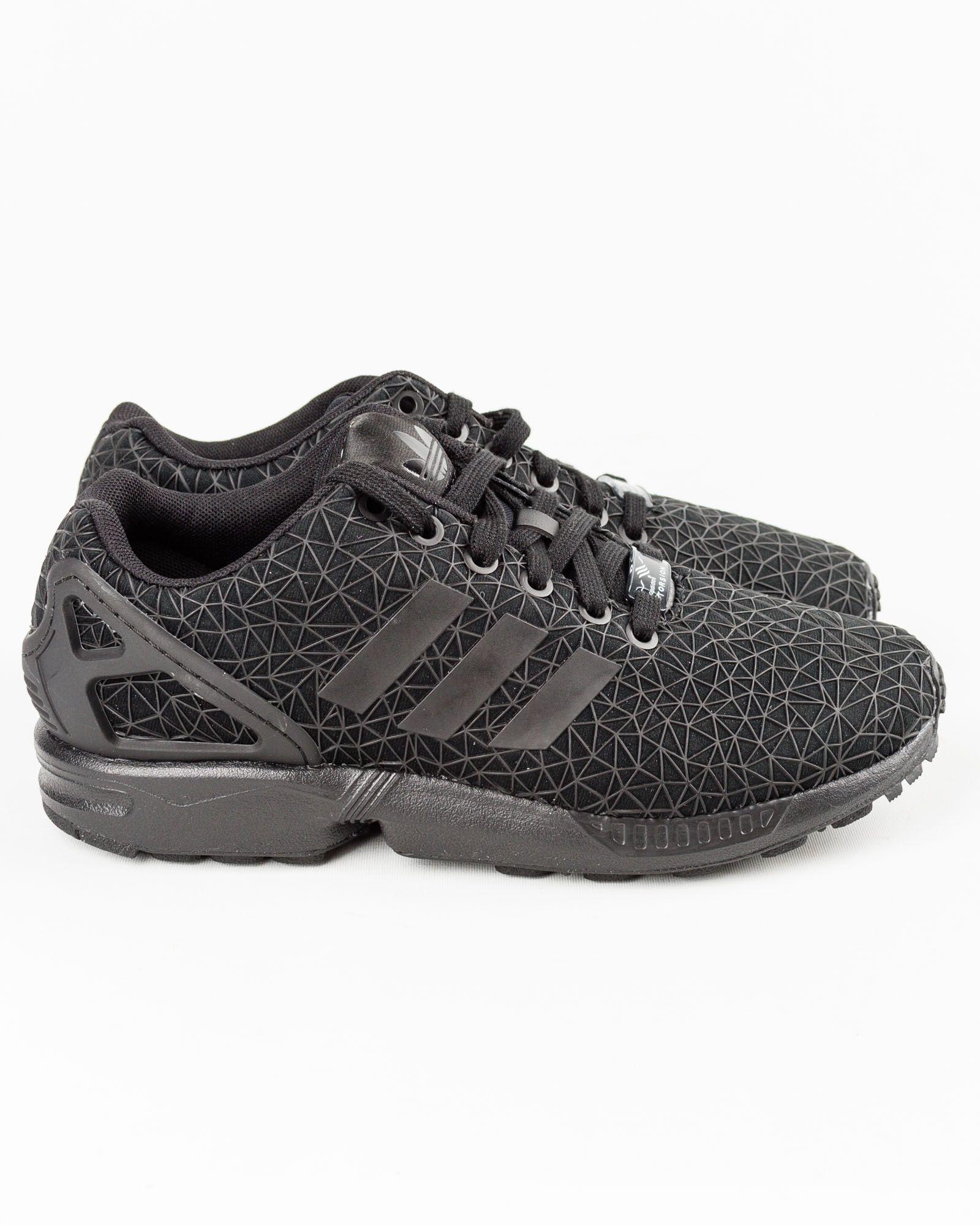 meilleure sélection 985a9 55d99 Sneakers Zx Flux Noir Adidas - Majestic | Adidas | Sneakers ...