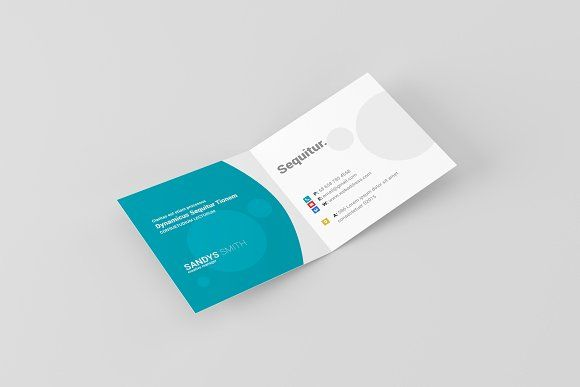 Square Folded Business Card Mock Ups Folded Business Cards Business Card Mock Up Square Business Card