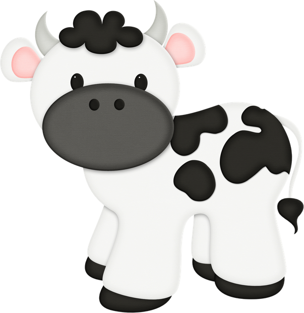 Jss Eieio Cow Png Animais Da Fazenda Vacas Bebe E Festa Pronta