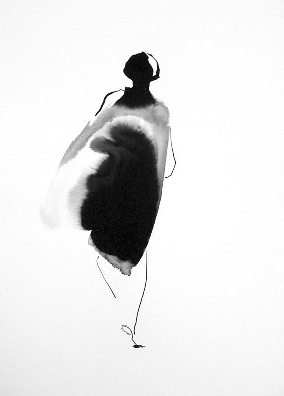 21 x 30 cm ink on paper Canson  Sylvia Baldeva©