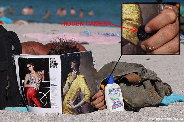Hidden beach cam