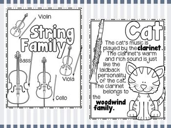 Peter And The Wolf Fact Sheets Listening Journal Teaching Music Elementary Music Classroom Elementary Music