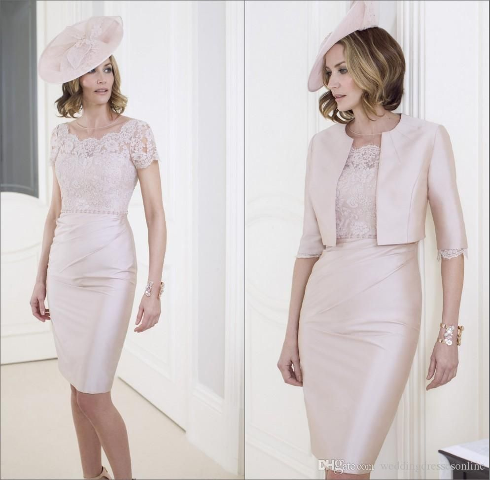 Mother wedding dresses petite  Formal Wedding Mother of the Bride Dresses with Jacket  Taffeta