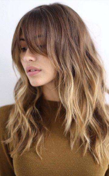 Balayage Trend y Highlights für jede Haarfarbe