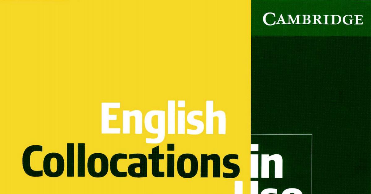 In pdf collocations english use