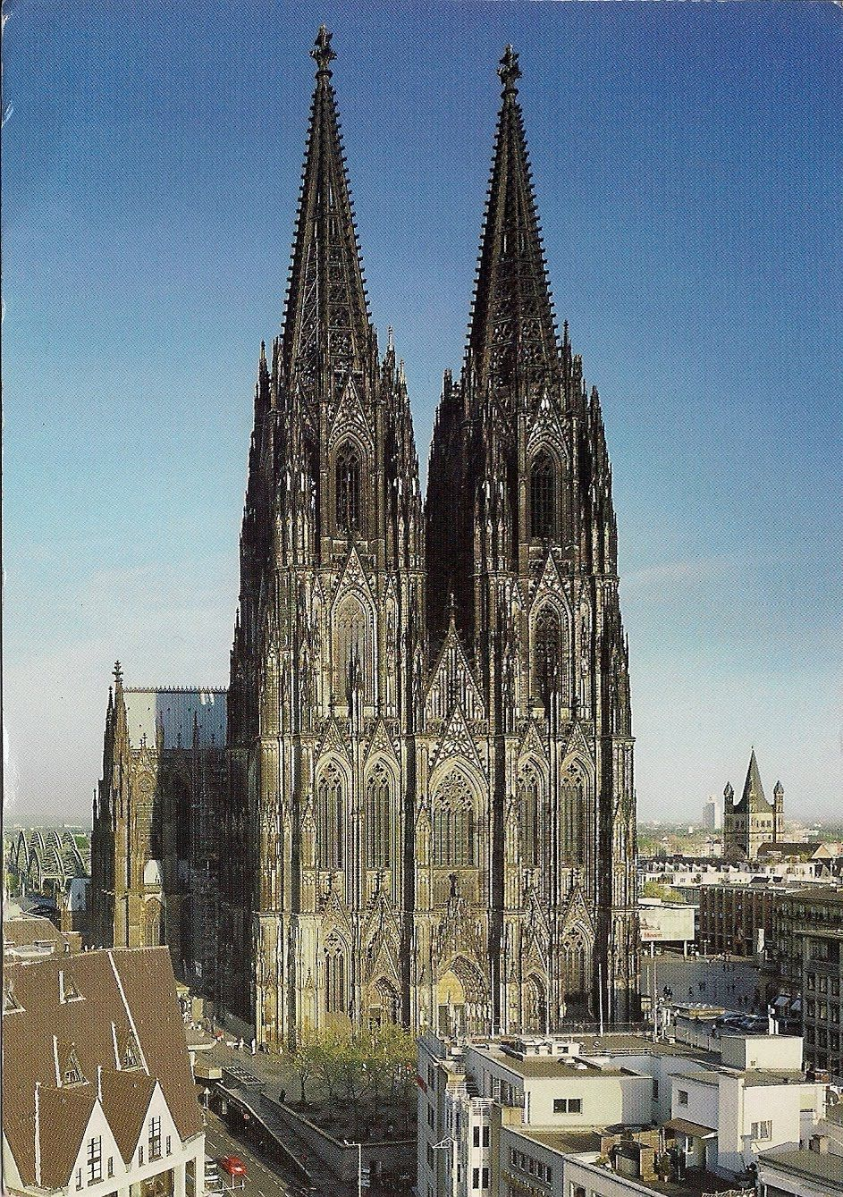 Cologne Cathedral After Seeing The Cathedrals In Germany France I D Love To See This In Person Cologne Cathedral Cathedral Germany