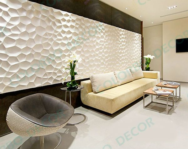 Wholesale decorative 3d wall panel pvc 3d wallpaper and interior wall paneling buy decorative - Fancy wall designs ...