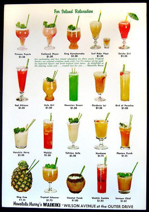 Tropical Cocktails Tiki Drinks Tiki Cocktails Tropical Drink