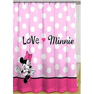Mickey And Minnie Mouse Shower Curtain Minnie Mouse Shower