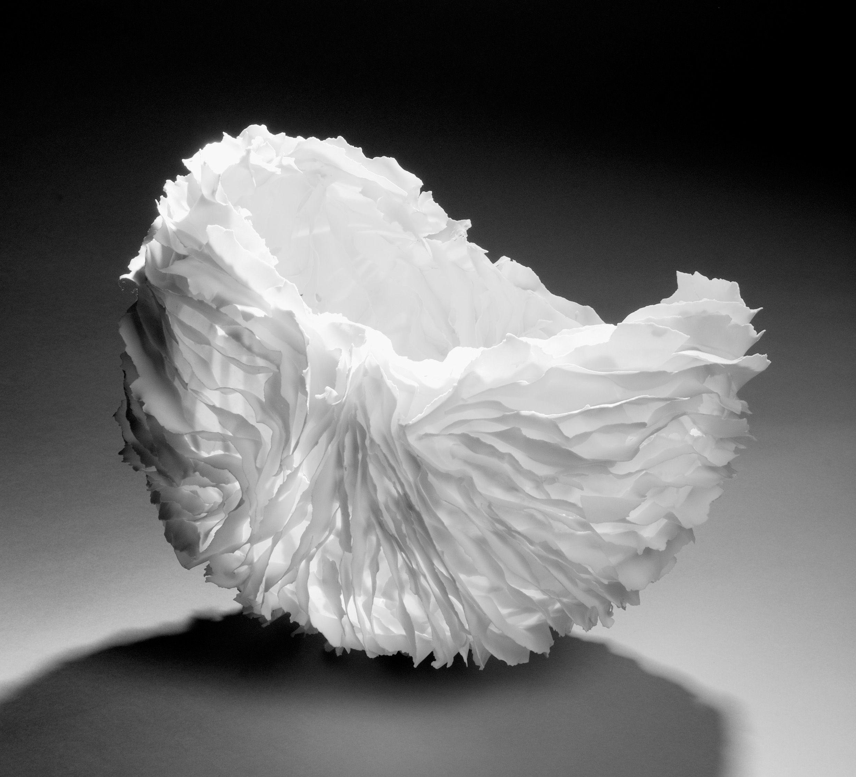 Françoise joris céramique porcelaine papier