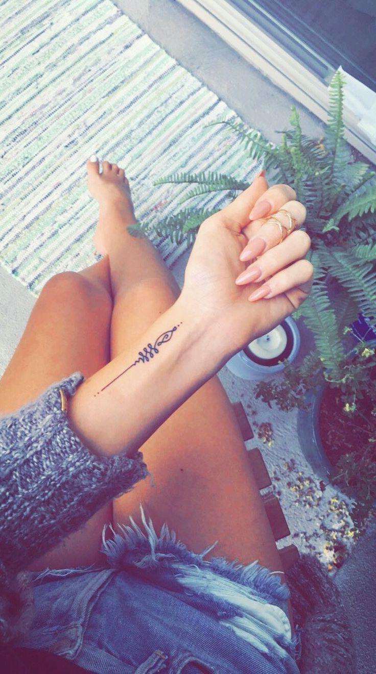 My Unalome Wrist Tat My Unalome Wrist Tattoo More Tattoos