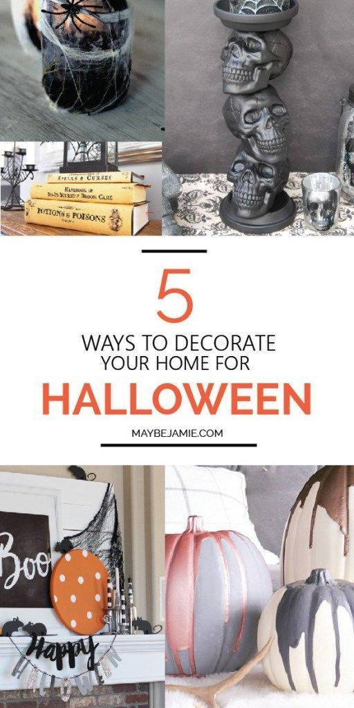 5 Ways To Decorate Your Home For Halloween DIY Halloween and