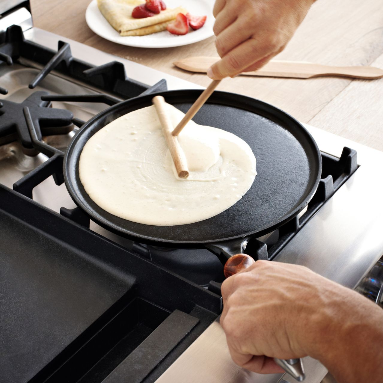 Great Dinnerware · Staub® Cast Iron Crêpe Set | Sur La Table
