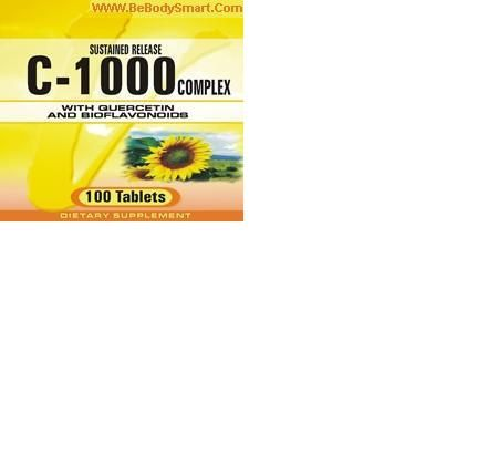 C-1000 Complex Coated Tablet       www.BeBodySmart.com