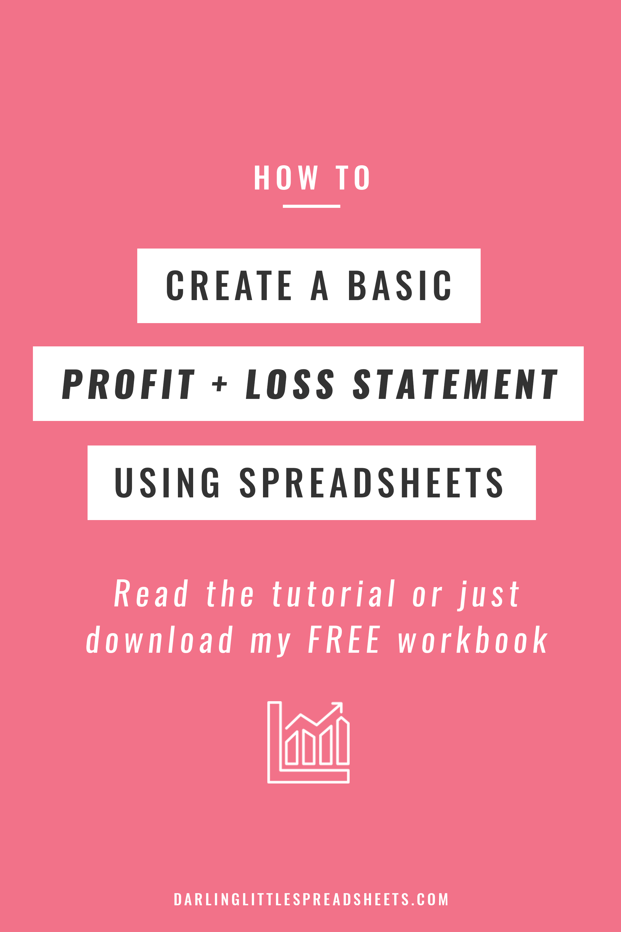 Easy Profit And Loss Statement How To Create A Basic Profit & Loss Statement Free Download .