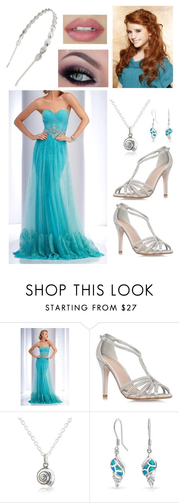 Ariel inspired Prom outfit\