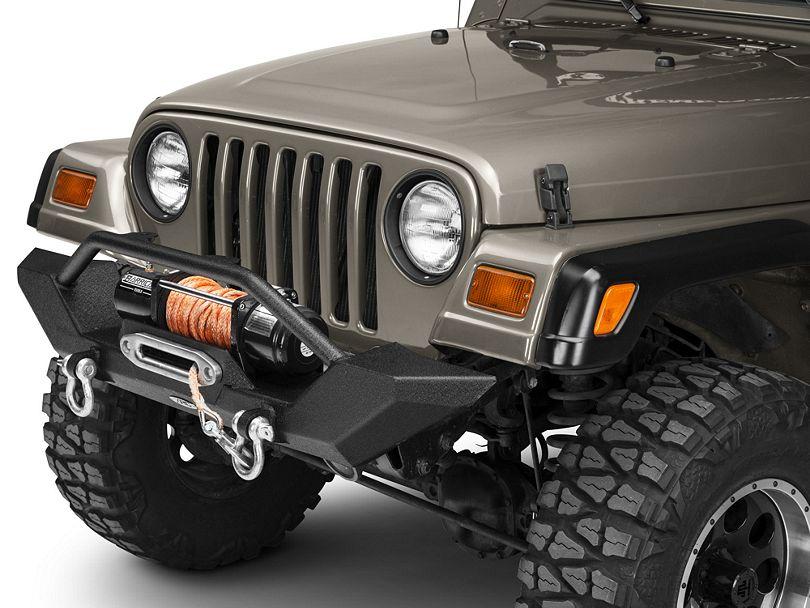 Smittybilt Jeep Wrangler Xrc Front Bumper 76800 97 06 Jeep