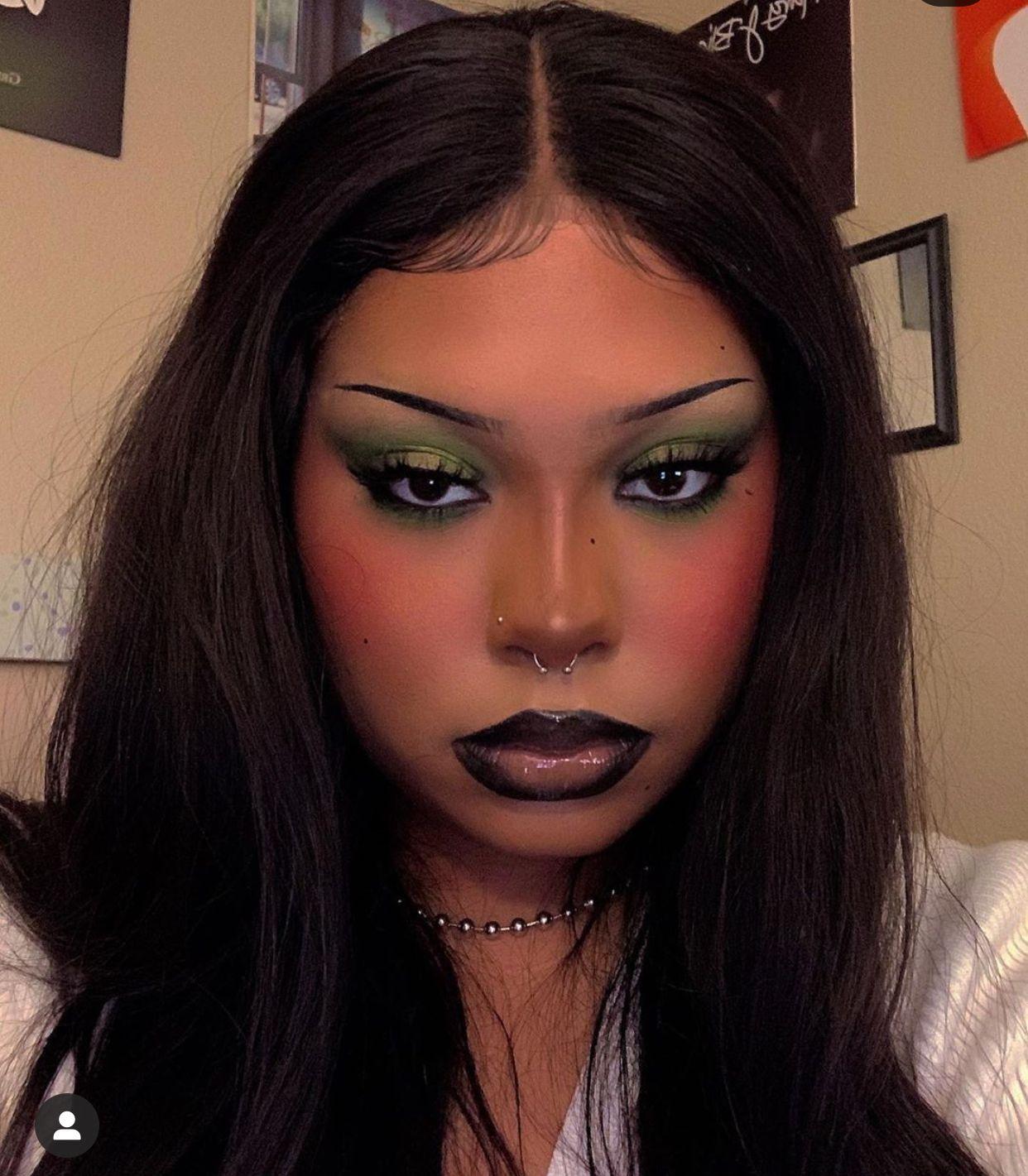 Billieholiblaze In 2020 Alternative Makeup Edgy Makeup Creative Makeup Looks