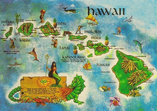 Aloha Went To Hawaii In 1969 To Visit My Aunt It Was