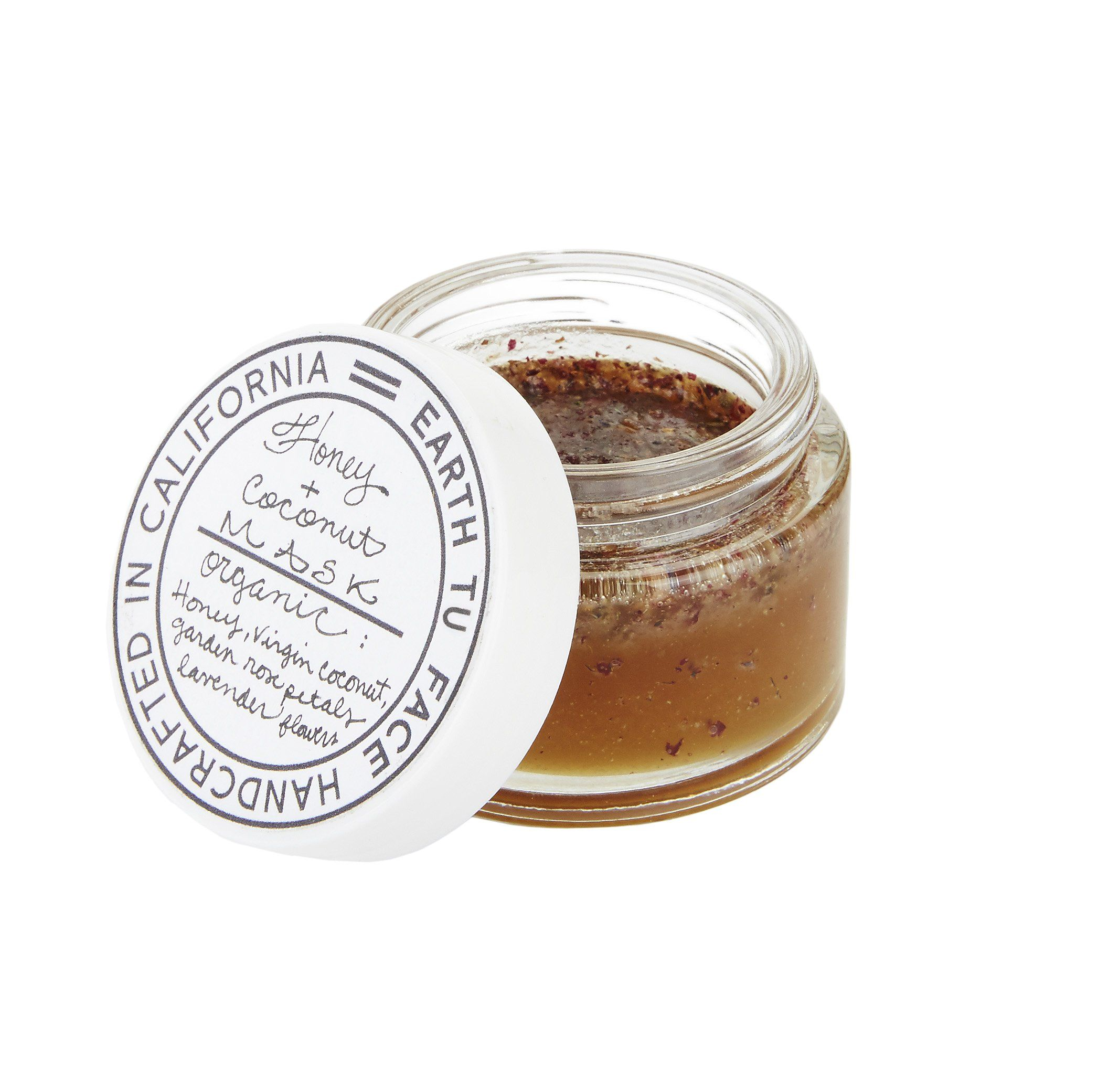 Earth tu Face - Organic / Raw Honey + Coconut  Mask