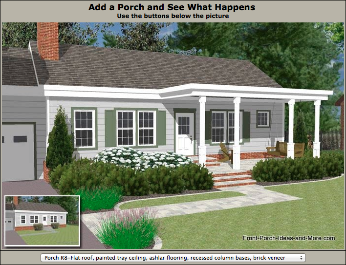 Great Front Porch Designs Illustrator On A Basic Ranch Home Design Front Porch Design House Front Porch Porch Design,Cottage Garden Design Layout