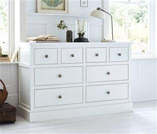 Hove 4 + 4 Drawer Wide Chest