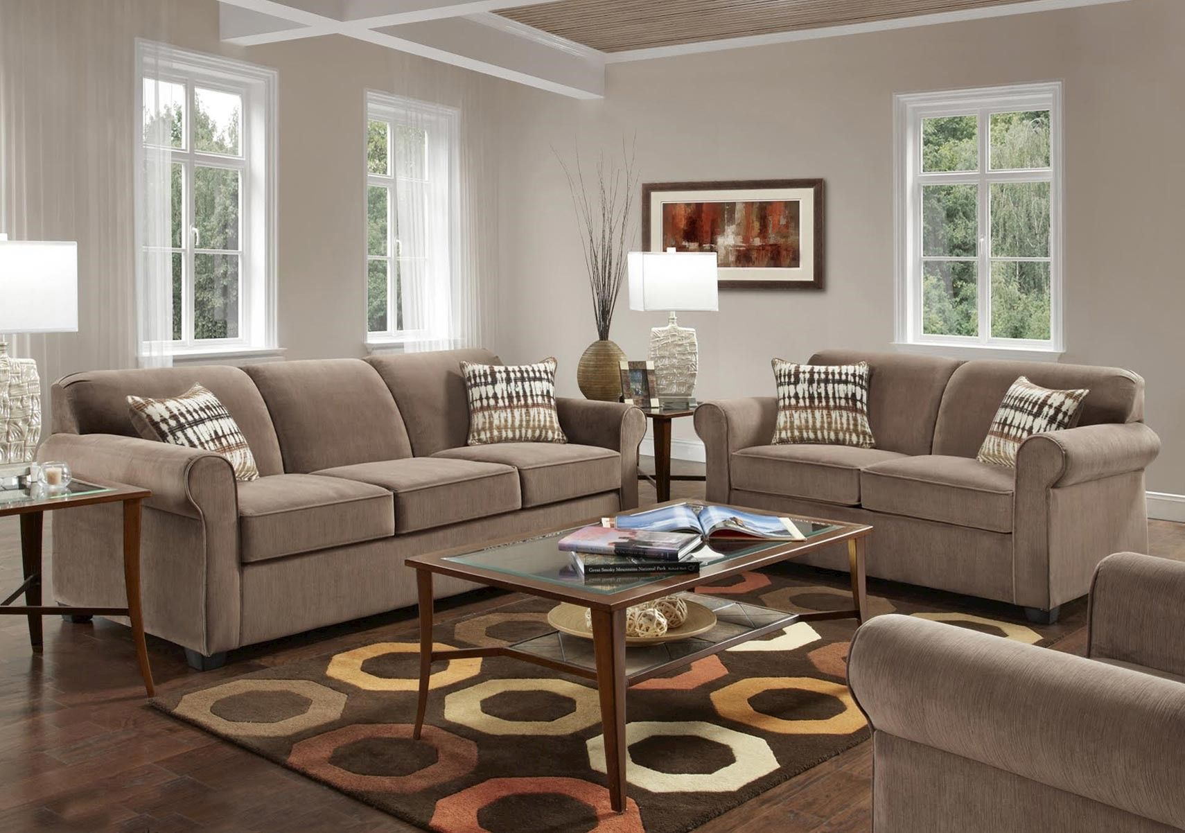 Lacks Salem 2 Pc Living Room Set Living Room Sets Sofa And