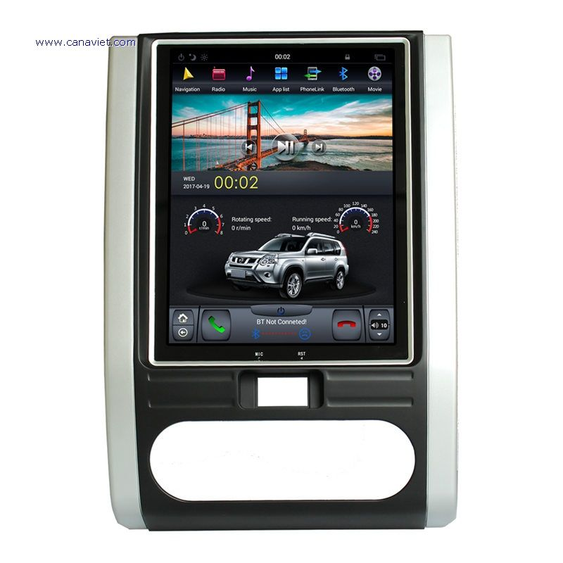 Vertical Screen Tesla Android Autoradio Car Multim