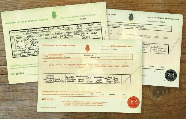 how to order an english or welsh birth, marriage or death