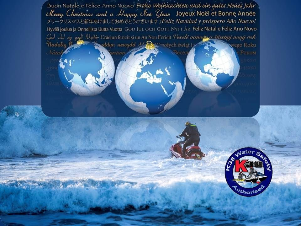 K38 Merry Christmas to you all around the world! Rescue Water Craft   Merry christmas to you ...