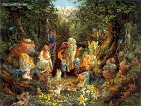Once Upon a Time~James Christensen
