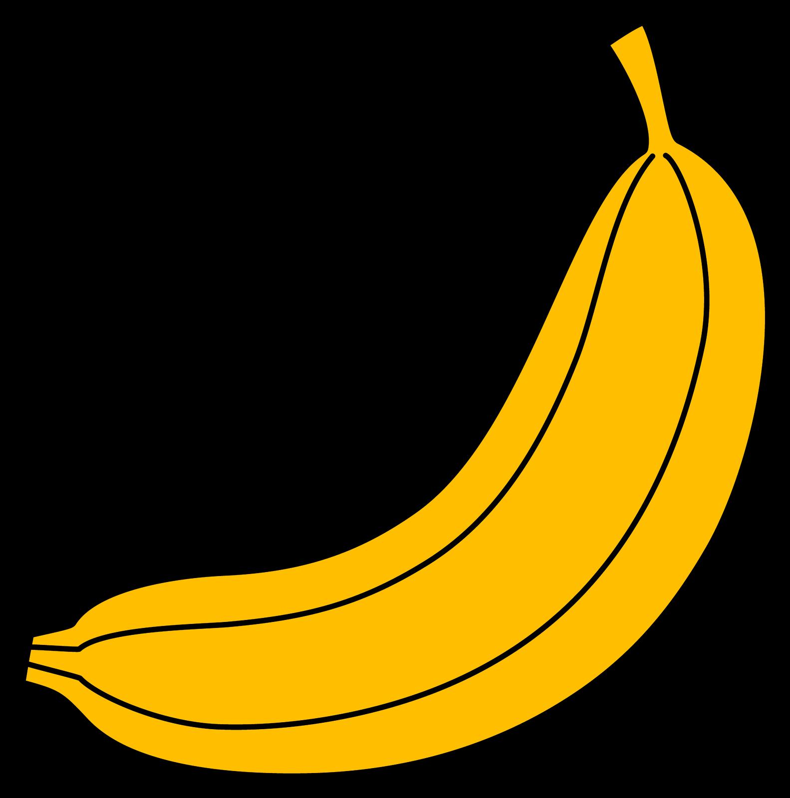 Бананы нарисованные картинки