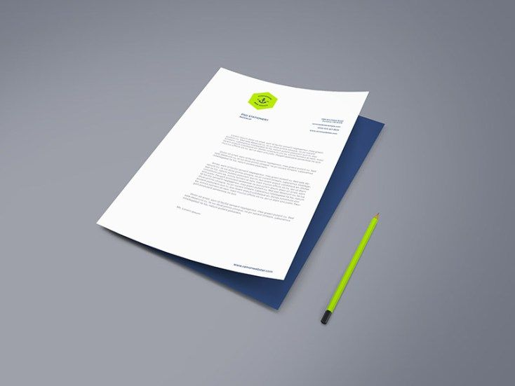 Free High Resolution A4 Paper Mockup Paper mockup