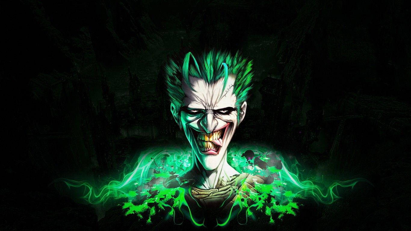 The Green Flash Joker Joker wallpapers, Joker pics, Neon