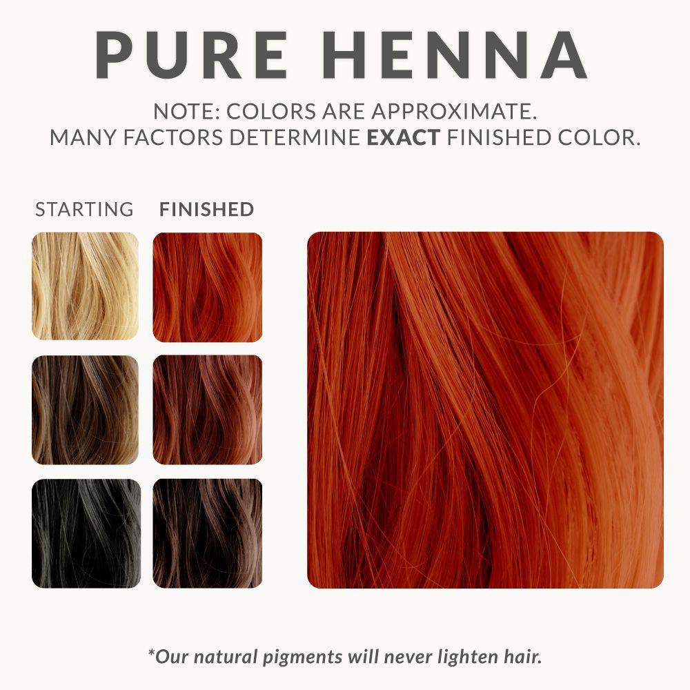 Pure Henna Hair Dye Henna Color Lab Henna Hair Dye Hair Color