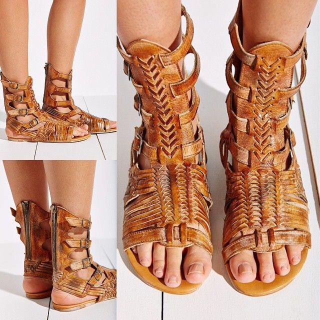 NEW #bedstu sandals 6-11 $139.99 #Beauty is in the details with #AURELIA, this bold #vintage #gladiator #sandal dons supple leather straps that encase your foot and ankle, while a padded leather #footbed ensures a comfortable step every time. • Intricatel