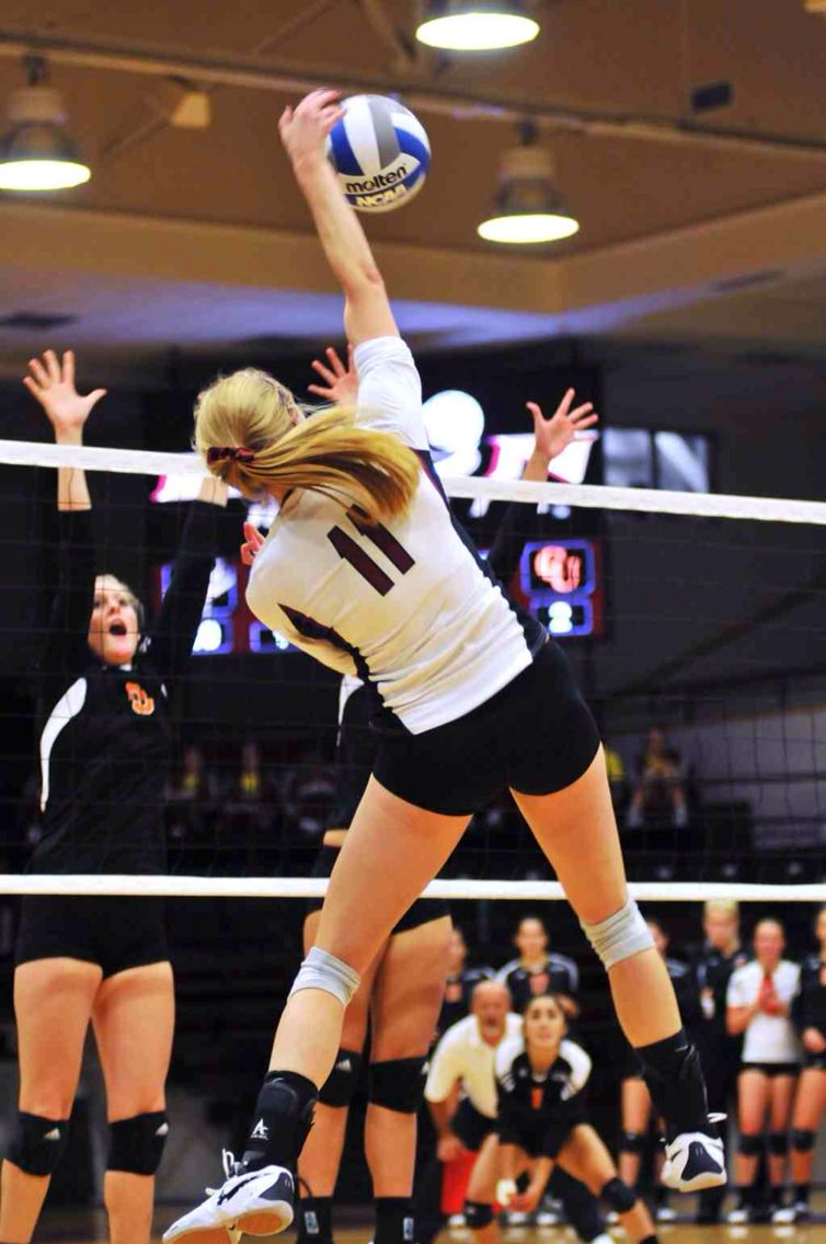 volleyball hitting volleyball volleyball  college essay sports 11 student athletes on what they learned from playing college